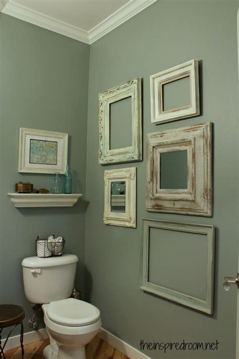 powder room decor powder room take two 2nd budget makeover reveal the inspired room