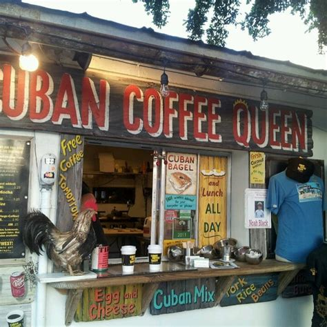 But with all of the cuban culture here, what else would one expect? Photos at Cuban Coffee Queen - Coffee Shop in Key West