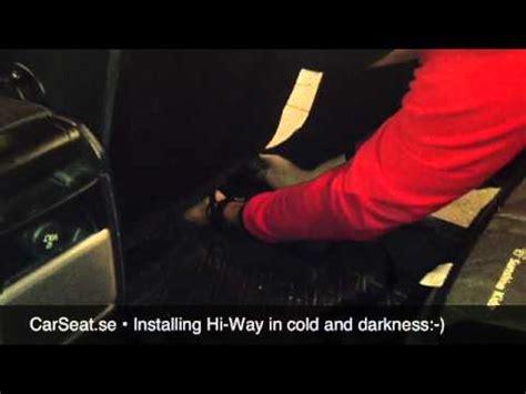 siege auto britax hi way 2 fitting of the britax secura hi way incarsafetycen
