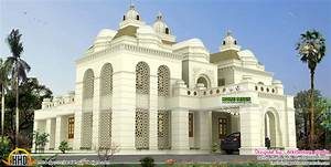 Islamic Style House Architecture Kerala Home Design And