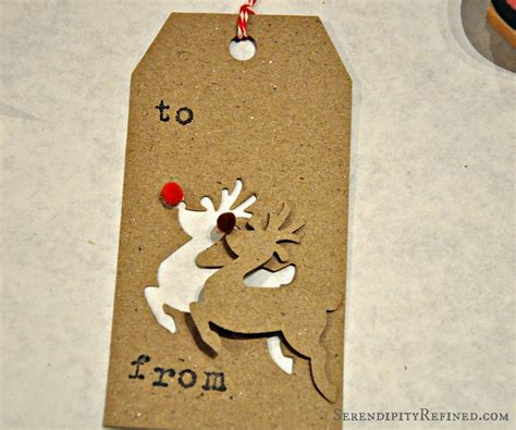 serendipity refined blog holiday gift tag ideas and