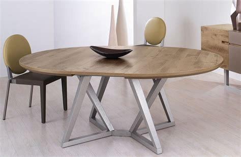 Table Ronde Design Avec Rallonge Table Basse Ronde Ou