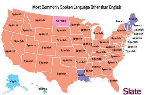 The Most Commonly Spoken Language Of Each State Thats