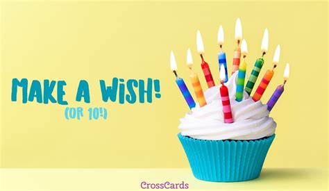 Free Make A Wish Ecard  Email Free Personalized Birthday