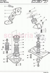 Aston Martin Db7  1995  Engine Mountings Parts