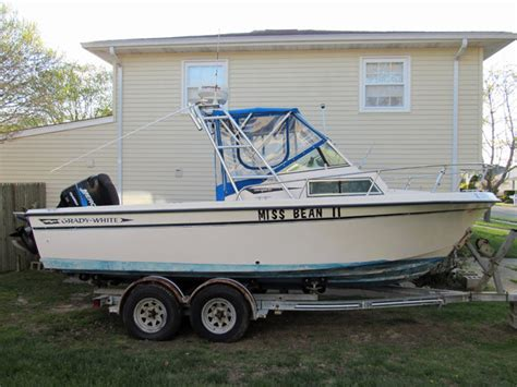 Used Grady White Cuddy Cabin Boats For Sale by 1985 Used Grady White Overnighter Cuddy Cabin Boat For