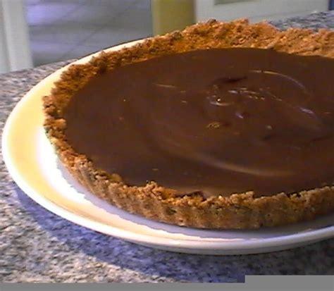 tarte cookies choco sans cuisson pour la p 226 te chez gigi