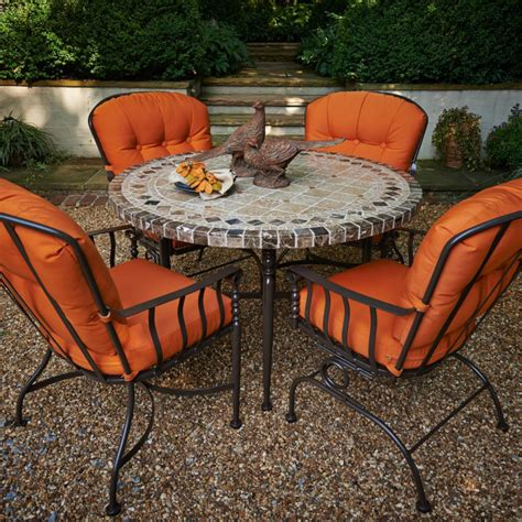 athens dining by meadowcraft outdoor furniture family
