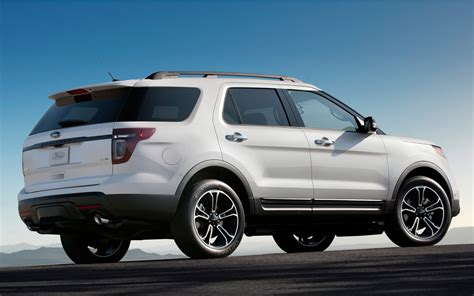 Ford 20192020 Ford Explorer Sport Front Photos 2019
