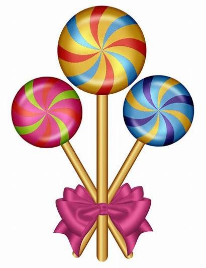 Candy Clip Clipart Candyland Land Cane Christmas