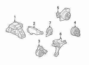 Chevrolet Cobalt Manual Transmission Mount  Liter  Engine