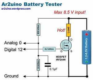 Battery Tester Wiring Diagram : arduino battery tester ar2uino scribblings ~ A.2002-acura-tl-radio.info Haus und Dekorationen