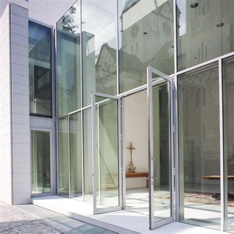 pfosten riegel fassade detail schüco holz aluminium fenster mit schmalsten ansichten