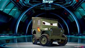 Cars 2 Video : disney pixar cars 2 the video game sarge youtube ~ Medecine-chirurgie-esthetiques.com Avis de Voitures