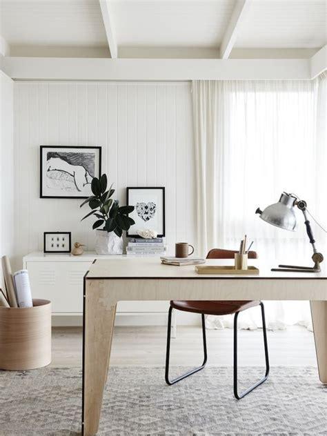 le de bureau blanche le mobilier de bureau contemporain 59 photos inspirantes