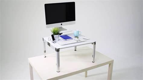 bureau pour travailler un bureau modulable pour travailler debout et assis rtbf