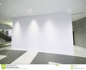 Blank White Wall Stock Image - Image: 21494571