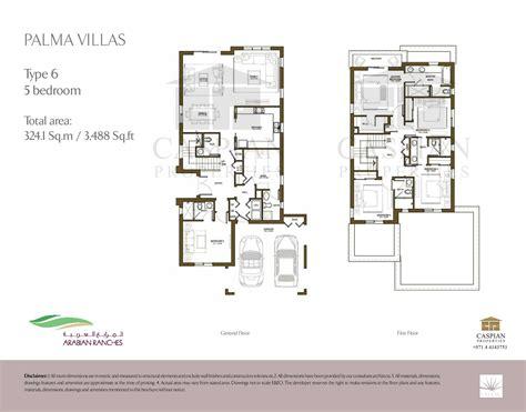 arabian ranches palma floor plans