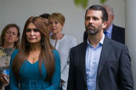 trump guilfoyle donald kimberly girlfriend jr positive coronavirus ap tests son president jrs his brandon alex washington