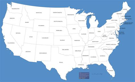 map  usa  large images projects   united