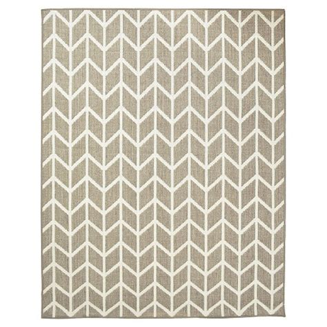 outdoor rugs target threshold rectangular patio rug zig zag taupe white ebay