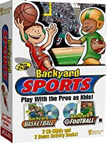 Backyard Football Pc by Backyard Sports Backyard Basketball And