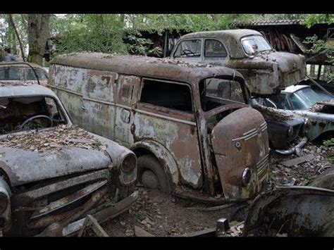 Abandoned Car Forest Found Army Truck  Youtube Cars