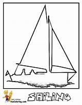 Coloring Boat Sail Sailing Sheet Yescoloring Boats Ship Superb sketch template