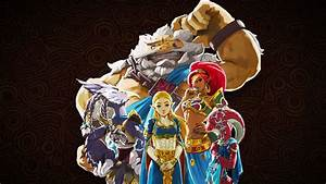 The Legend Of Zelda Breath Of The Wild The Champions