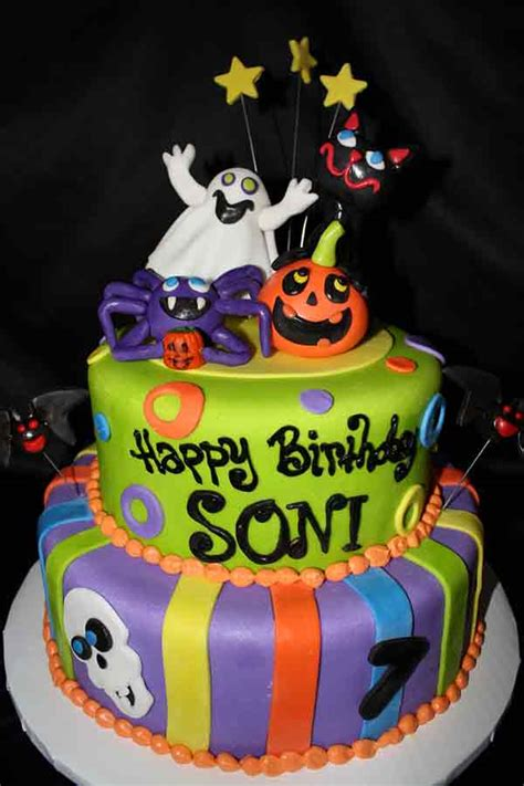 enchanting halloween cakes  delicious designs