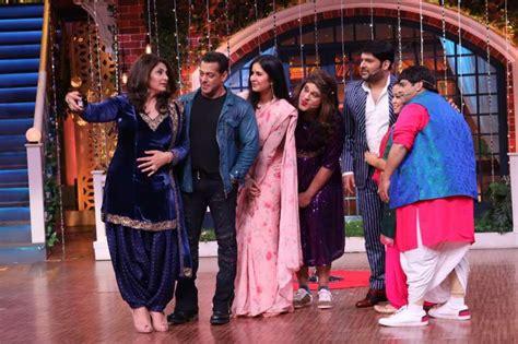 bharat stars salman khan katrina kaif share fun moments