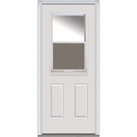 mmi door 36 in x 80 in clear glass right 1 2 lite 2