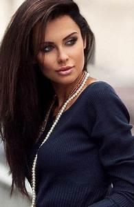 A Fabulous Long Black And Brown Hairstyle Ideas With