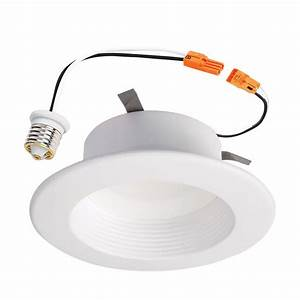 Halo lighting recessed lighting : Halo in white recessed lighting baffle and trim w