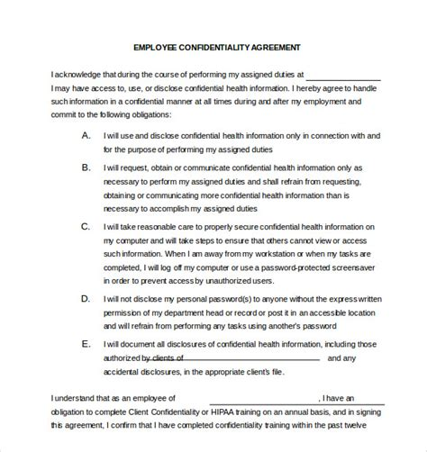 employee  disclosure agreement  gtld world congress