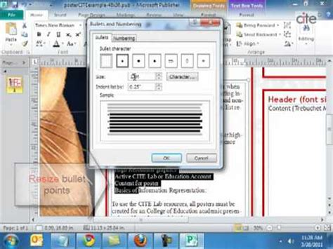 Office 365 Outlook Ungroup Emails by Poster Template Tutorial W Ms Publisher 2010