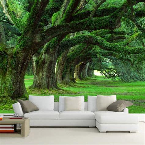customized  size wallpaper  modern natural landscape