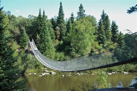 Suspension Bridge | Pinawa