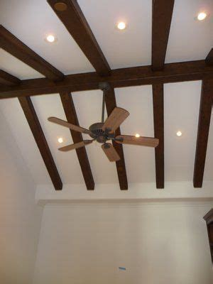 vaulted beam ceiling with recessed lights search