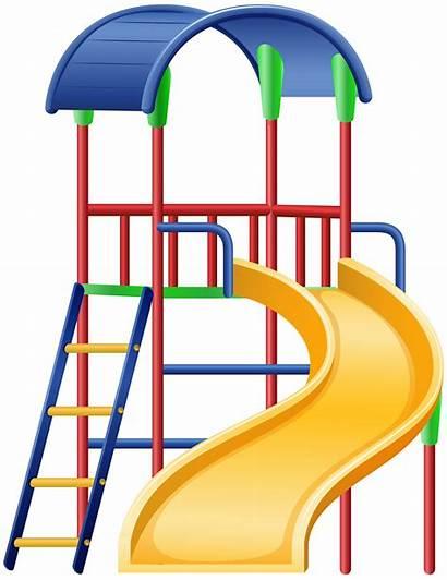 Slide Clip Clipart Playground Transparent Slid Cartoon