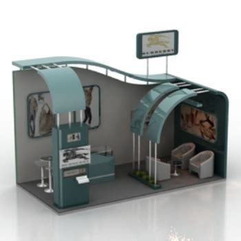 the l stand coupon m nages mod le salon panoramique 3d model download free