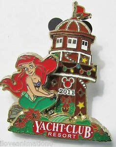 disney gingerbread house disneys yacht  club resort ariel pin ebay