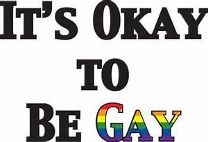 It's Okay To Be Gay Women's White T-Shirt - RainbowDepot