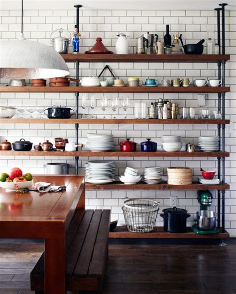kitchen open storage 19 gorgeous kitchen open shelving that will inspire you 2351