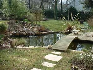 construire un bassin aquatique de la moine With beautiful amenagement jardin avec bassin 7 bassin de jardin