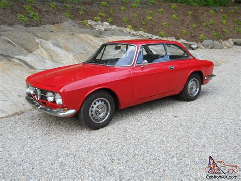 Alfa Romeo 1970 by 1970 Alfa Romeo European Tipo 10544 Model 1750 Gt Veloce