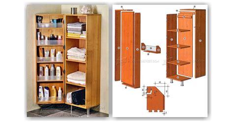 bathroom cabinet plans woodarchivist