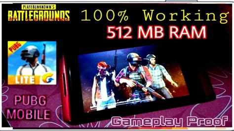 Pubg Mobile In 512mb Ram Gameplay Hd