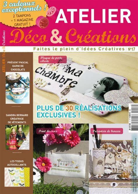 magazine l atelier deco et creations page 2 le scrap de sandrine vachon