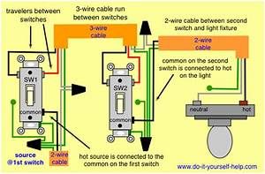 Wire 3 Way Dimmer Switch Diagrams